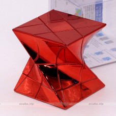 Moyu unequal twisty cube - FengHuoLun Electroplate