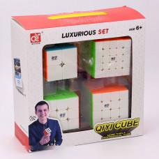 QiYi cube set - 2x2 3x3 4x4 5x5