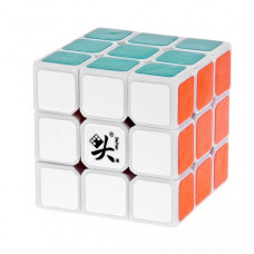 55mm DaYan V ZhanChi Magic Cube White