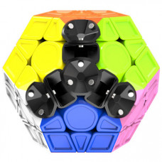 QiYi Galaxy V2 M Magnetic Sculpture Stickerless Megaminx
