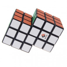 3x3x3 Double Conjoined Magic Cube Black (New Version)