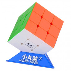 Maru Cx3 Magic Cube with Base Colored