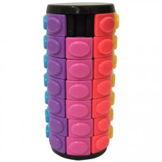 Seven-layer Rotate and Slide Puzzle Magic Tower Black