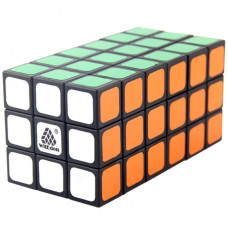 WitEden Fully Functional 3x3x6 Cuboid Cube Black