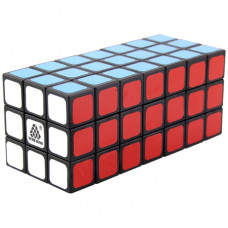 WitEden Fully Functional 3x3x7 Cuboid Cube Black